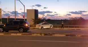 תאונת דרכים בכניסה לגדרה