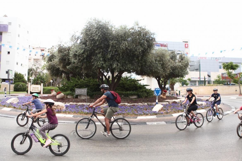 מסע אופניים רחובות
