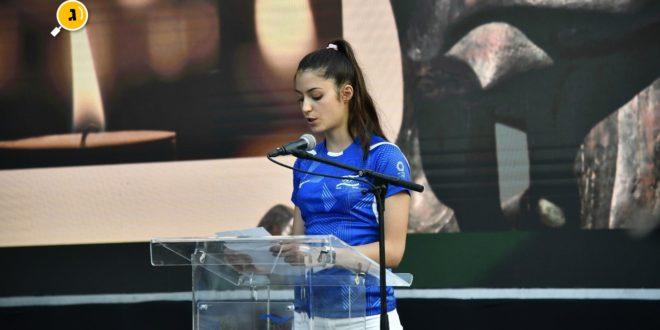 סמברג בנאום בטקס חללי מינכן